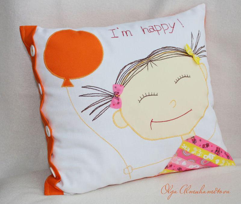 Купить подушку для девочки