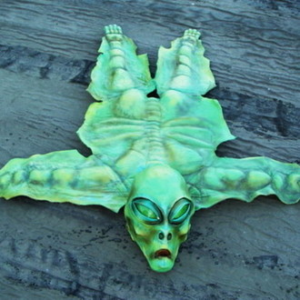 Alien Rug on Ebay. 1 dollar start auction!