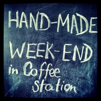 HAND-MADE WEEK-END IN COFFEE STATION 22-23 сентября