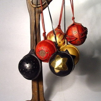 Steampunk Leather Christmas Toys